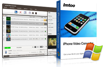 ImTOO iPhone Converter - Video zu iPhone 3G Converter